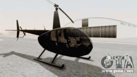 Helicopter de la Policia Nacional del Paraguay para la visión correcta GTA San Andreas
