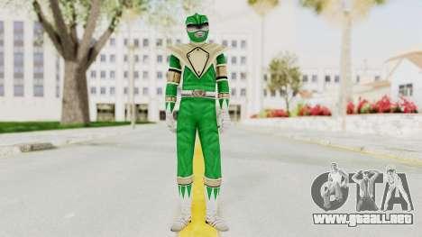 Mighty Morphin Power Rangers - Green para GTA San Andreas segunda pantalla