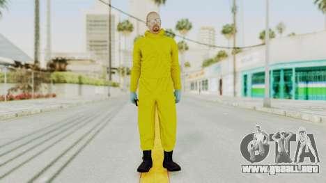 Walter White Heisenberg GTA 5 Style para GTA San Andreas segunda pantalla
