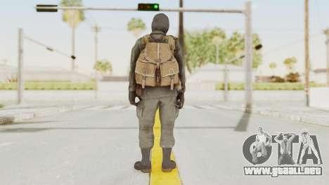 COD Black Ops Russian Spetznaz v1 para GTA San Andreas tercera pantalla
