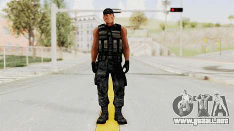 Rambo para GTA San Andreas segunda pantalla