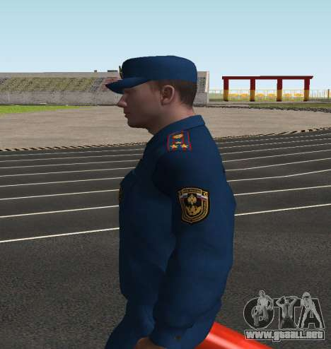 El Coronel EMERCOM de Rusia para GTA San Andreas tercera pantalla