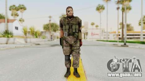 MGSV The Phantom Pain Venom Snake Woodland para GTA San Andreas segunda pantalla