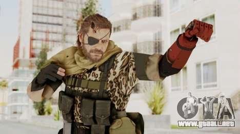 MGSV The Phantom Pain Venom Snake Scarf v8 para GTA San Andreas