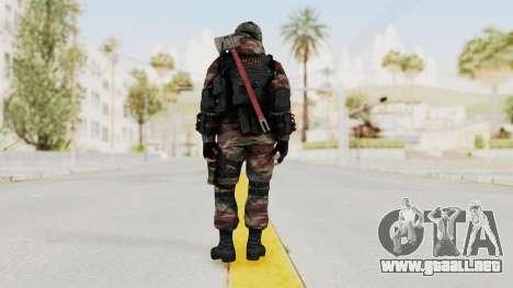 Battery Online Russian Soldier 5 v1 para GTA San Andreas tercera pantalla