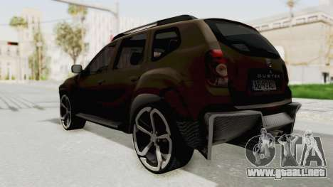 Dacia Duster 2010 Tuning para GTA San Andreas left