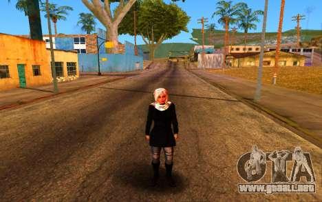 Iranian Girl para GTA San Andreas sucesivamente de pantalla