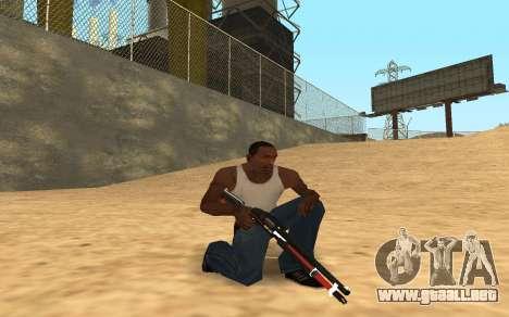 Shotgun Cyrex para GTA San Andreas tercera pantalla