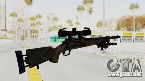 M24 Sniper Ghost Warrior para GTA San Andreas tercera pantalla