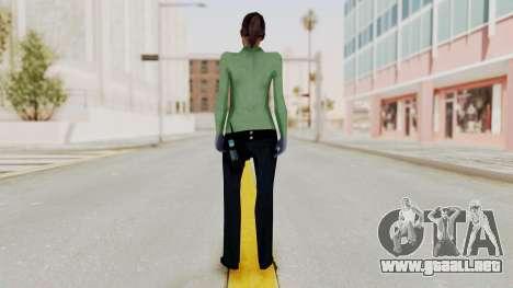Female Medic Skin para GTA San Andreas tercera pantalla