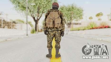 COD Black Ops Russian Spetznaz v4 para GTA San Andreas tercera pantalla