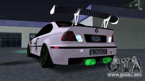 BMW M3 E46 JDM para la visión correcta GTA San Andreas