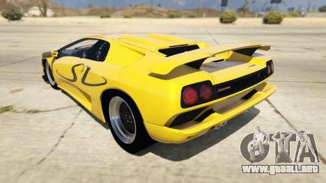 Lamborghini Diablo SV 1997 para GTA 5