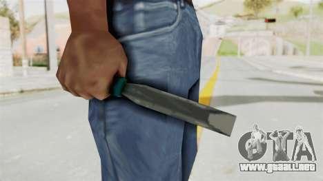 Liberty City Stories - Chisel para GTA San Andreas tercera pantalla