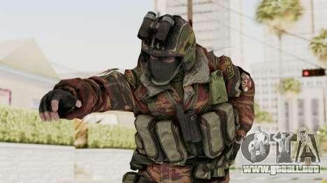 Battery Online Russian Soldier 8 v1 para GTA San Andreas