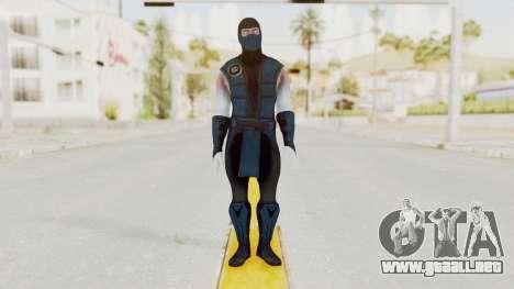 Mortal Kombat X Klassic Sub Zero v2 para GTA San Andreas segunda pantalla