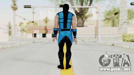Mortal Kombat X Klassic Sub Zero UMK3 v1 para GTA San Andreas tercera pantalla