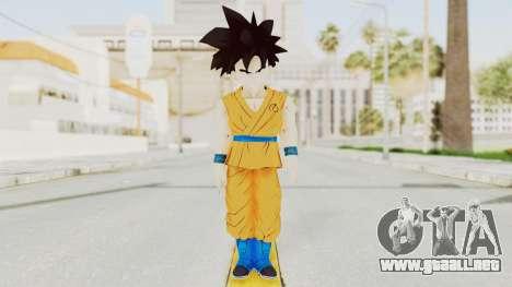 Dragon Ball Xenoverse Gohan Teen DBS SJ v2 para GTA San Andreas segunda pantalla