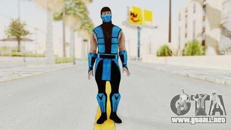 Mortal Kombat X Klassic Sub Zero UMK3 v1 para GTA San Andreas segunda pantalla