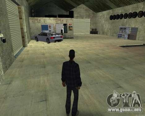 El interior de STO San Fierro para GTA San Andreas segunda pantalla