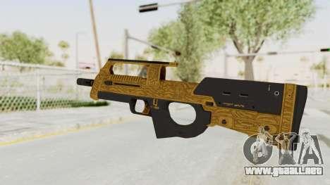 Assault SMG Lux para GTA San Andreas segunda pantalla