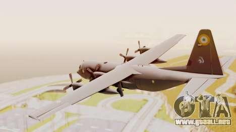 C130 Hercules Indian Air Force para la visión correcta GTA San Andreas