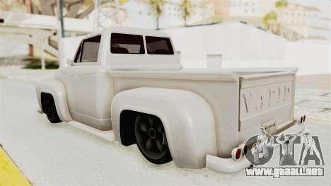 GTA 5 Slamvan Stock para GTA San Andreas left