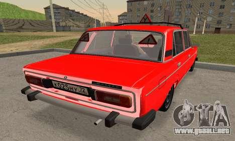 VAZ 2106 Formación para GTA San Andreas left