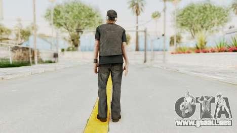 Alan Wake - Tor Anderson para GTA San Andreas tercera pantalla