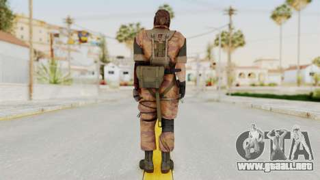 MGSV The Phantom Pain Venom Snake Golden Tiger para GTA San Andreas tercera pantalla