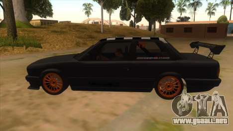 BMW 325i Turbo para GTA San Andreas left