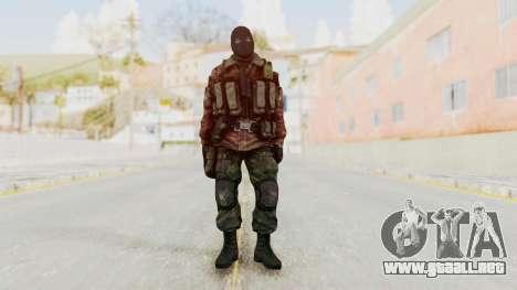 Battery Online Russian Soldier 8 v2 para GTA San Andreas segunda pantalla