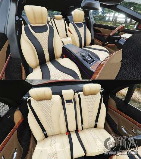 GTA 5 Mercedes-Benz S500 (W222) [bridgestone] v2.1 volante
