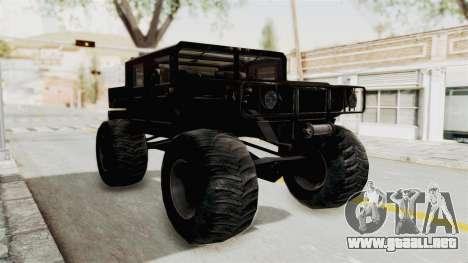 Hummer H1 Monster Truck TT para GTA San Andreas
