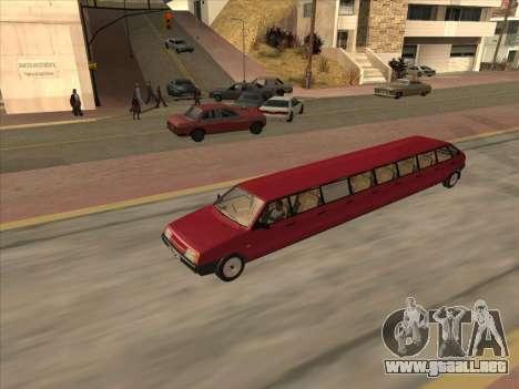 VAZ 2109 17-door para GTA San Andreas