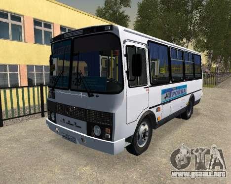 Paz 3205 Dzerzhinsk para GTA San Andreas