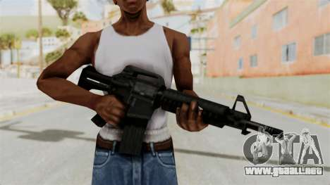 Liberty City Stories M4 para GTA San Andreas