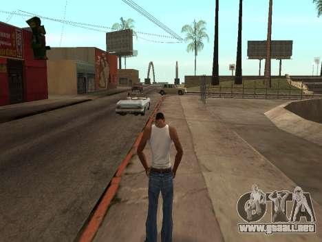 ANTI TLLT para GTA San Andreas sucesivamente de pantalla