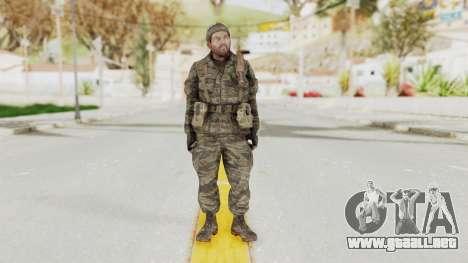 COD BO SOG Woods v1 para GTA San Andreas segunda pantalla