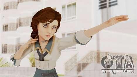 Bioshock Infinite Elizabeth Student para GTA San Andreas