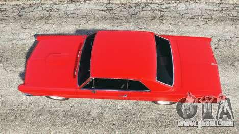 Pontiac Tempest Le Mans GTO 1965 v1.1 para GTA 5