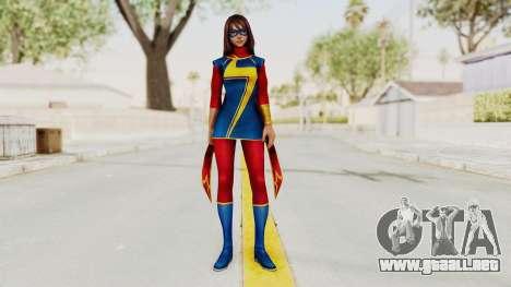 Marvel Future Fight - Kamala Khan para GTA San Andreas segunda pantalla