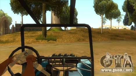 Arenero para visión interna GTA San Andreas
