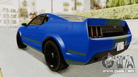 GTA 5 Vapid Dominator v2 IVF para GTA San Andreas left