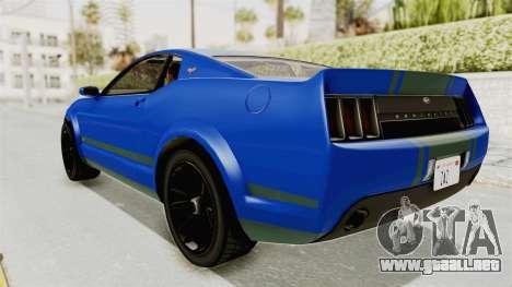 GTA 5 Vapid Dominator v2 IVF para GTA San Andreas left