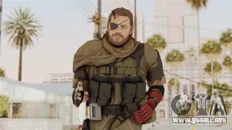MGSV The Phantom Pain Venom Snake Scarf v1 para GTA San Andreas