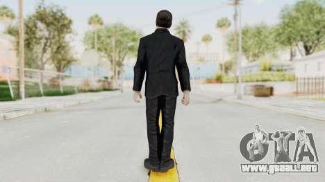 COD BO Nixon Anonymous para GTA San Andreas tercera pantalla