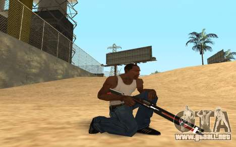 Shotgun Cyrex para GTA San Andreas quinta pantalla