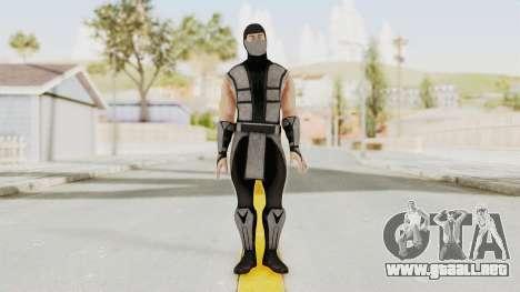 Mortal Kombat X Klassic Human Smoke para GTA San Andreas segunda pantalla
