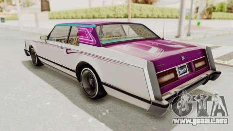 GTA 5 Dundreary Virgo Classic Custom v2 para las ruedas de GTA San Andreas